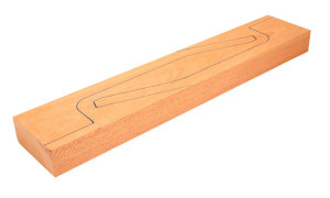 Genuine Mahogany guitar Neck Billet mitchell forest products