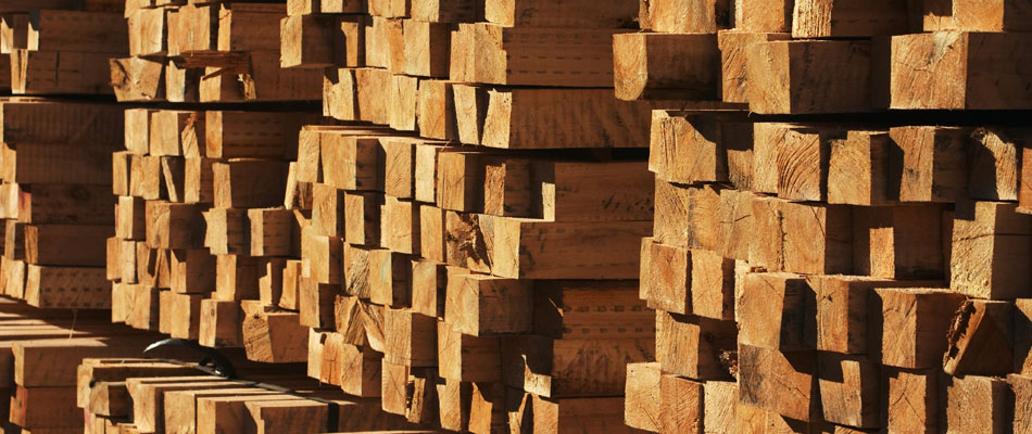 Bundled Lumber - Mitchell Forest Products